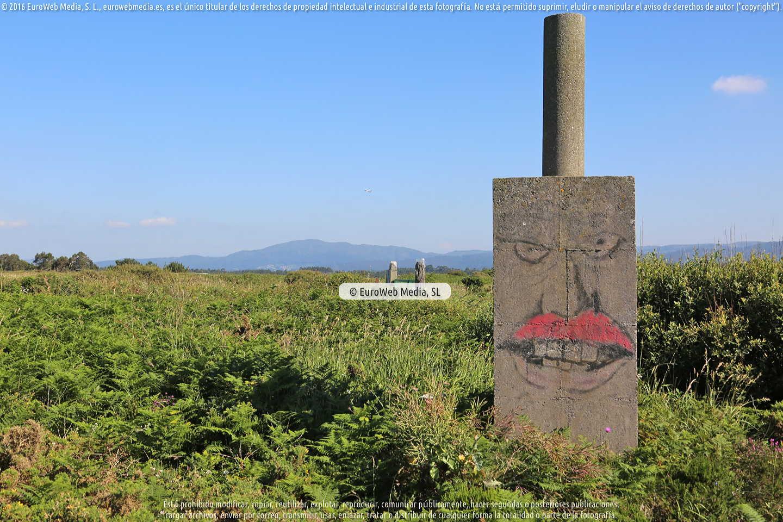 Fotografía de Vértice geodésico de Sable en Castrillón. Asturias. España.