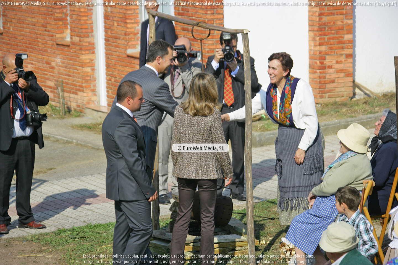 Fotografía de Comunidad vecinal de San Tirso de Abres, Premio al Pueblo Ejemplar de Asturias 2011 en San Tirso de Abres. Asturias. España.