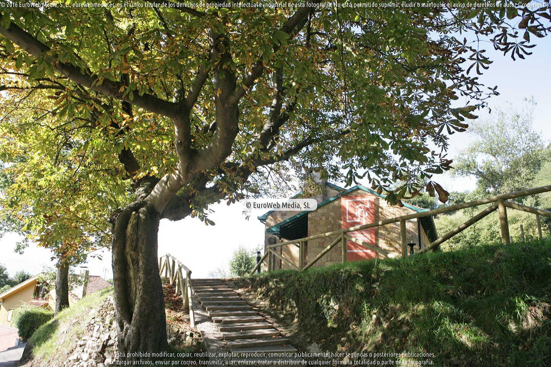 Fotografía de Centro de Recepción e Interpretación del Prerrománico en Oviedo. Asturias. España.