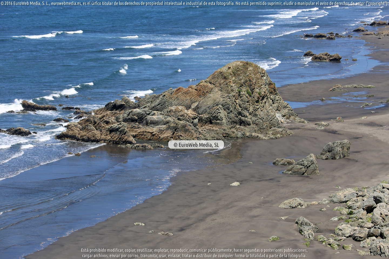 Fotografía de Playa El Sablón en Soto del Barco. Asturias. España.