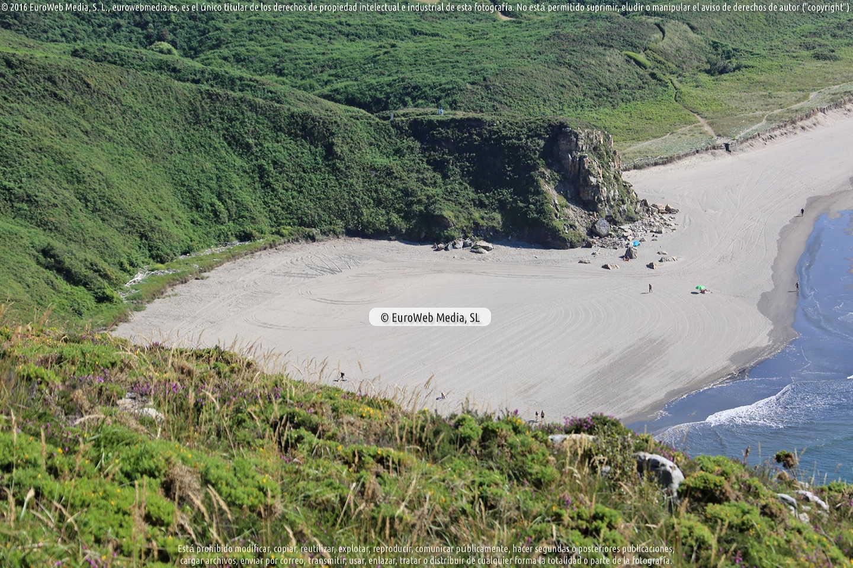 Fotografía de Playa Los Requexinos en Castrillón. Asturias. España.