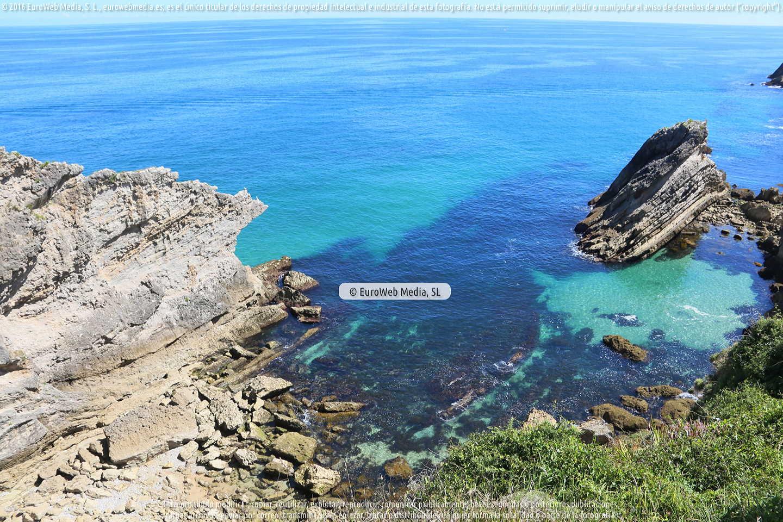 Fotografía de Playa La Nao en Llanes. Asturias. España.