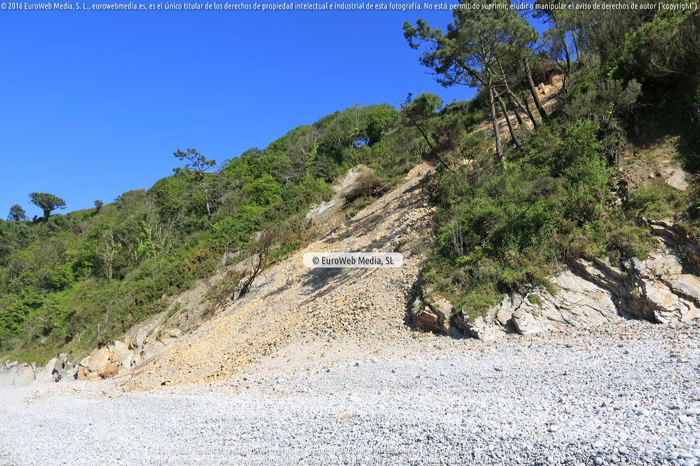 Fotografía de G.R. E9. Senda Costera en El Franco. Asturias. España.