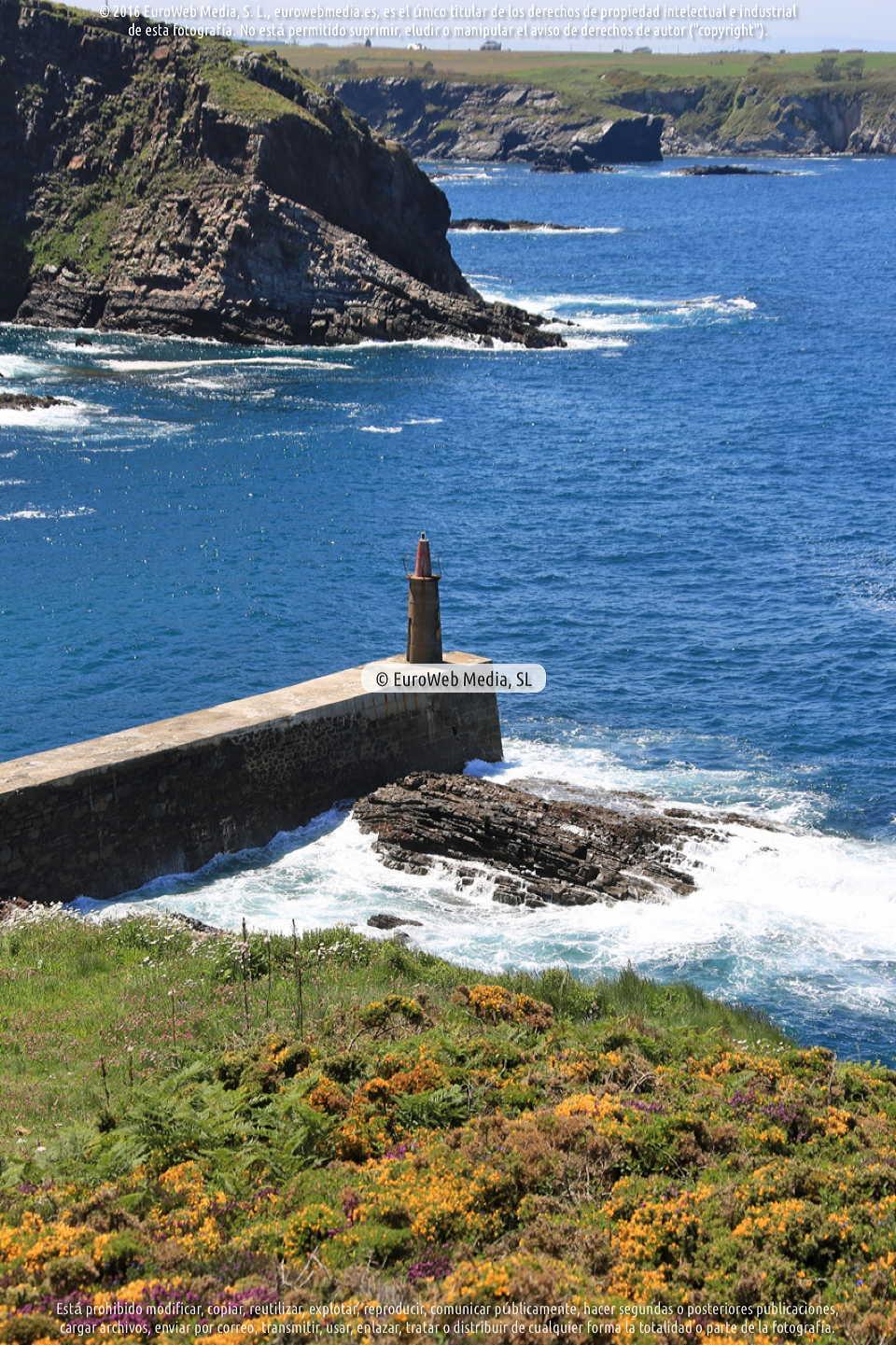 Fotografía de Mirador de La Atalaya en El Franco. Asturias. España.