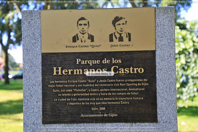 Fotografía de Parque de los Hermanos Castro en Gijón. Asturias. España.