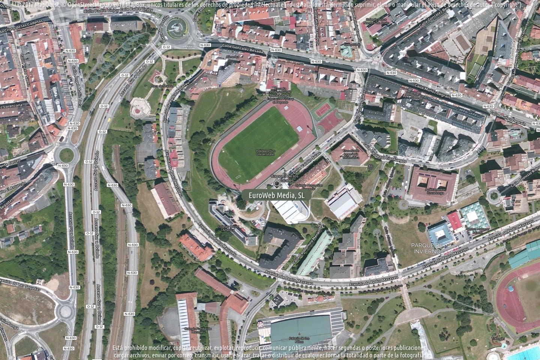 Fotografía de Polideportivo Universitario de Oviedo en Oviedo. Asturias. España.
