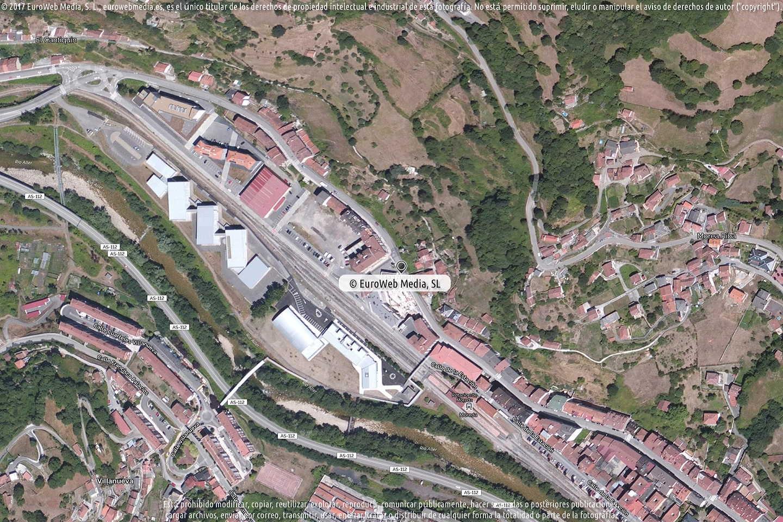 Fotografía de Estación de servicio Galp en Morea - Moreda en Aller. Asturias. España.