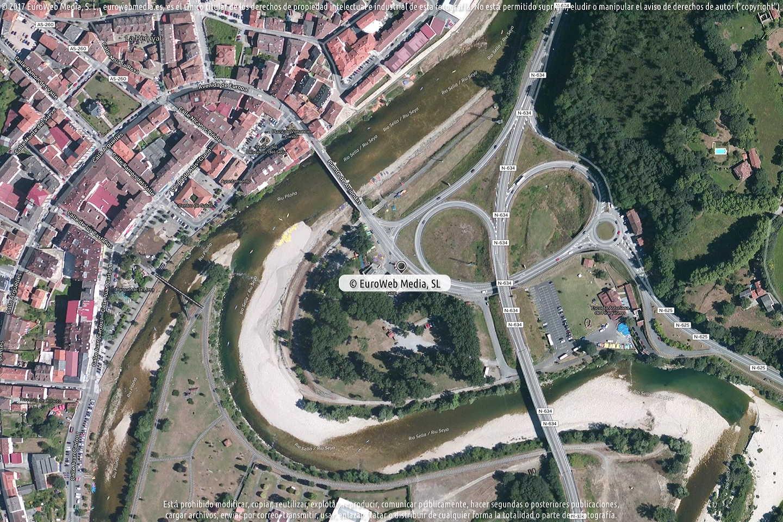 Fotografía de Estación de servicio Galp Arriondas en Coviella en Cangas de Onís. Asturias. España.