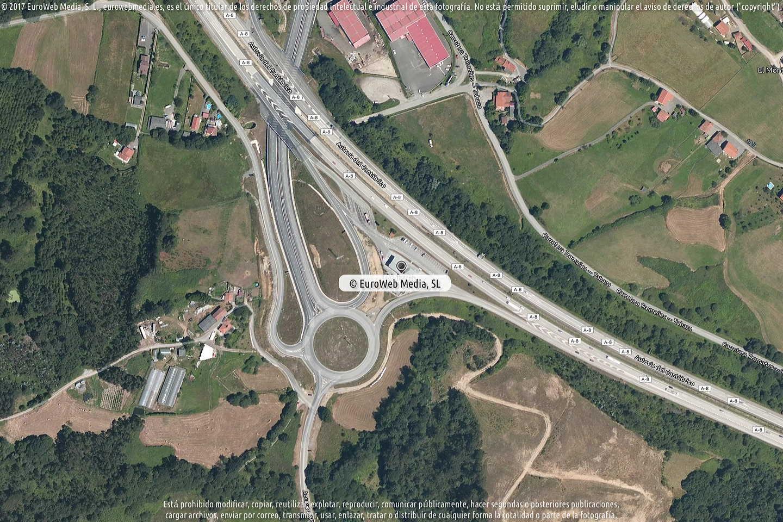 Fotografía de Estación de servicio Petronor en El Monticu D en Carreño. Asturias. España.