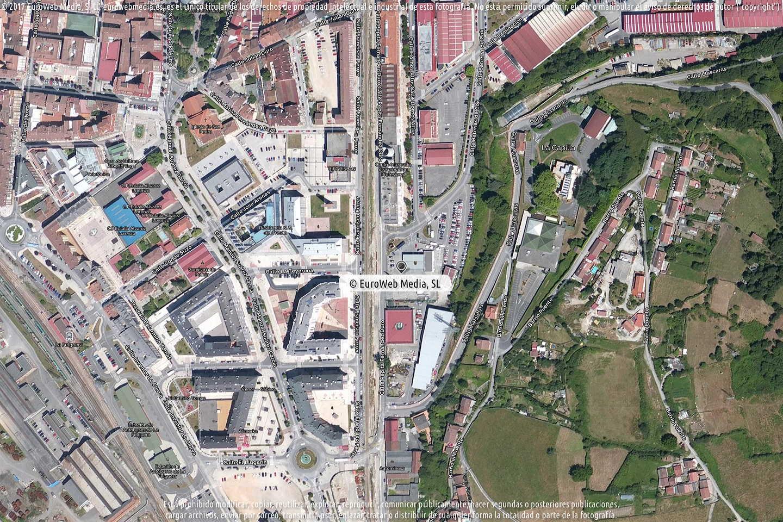 Fotografía de Estación de servicio Repsol en La Felguera en Langreo. Asturias. España.