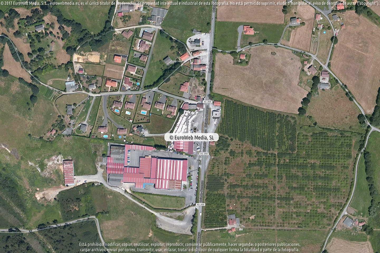 Fotografía de Estación de servicio Cepsa en Pruvia de Abajo en Llanera. Asturias. España.