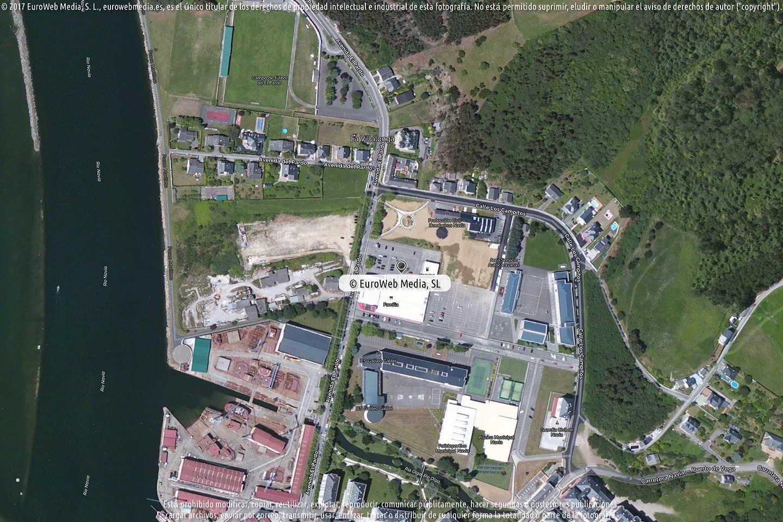 Fotografía de Estación de servicio Eroski en Navia en Navia. Asturias. España.