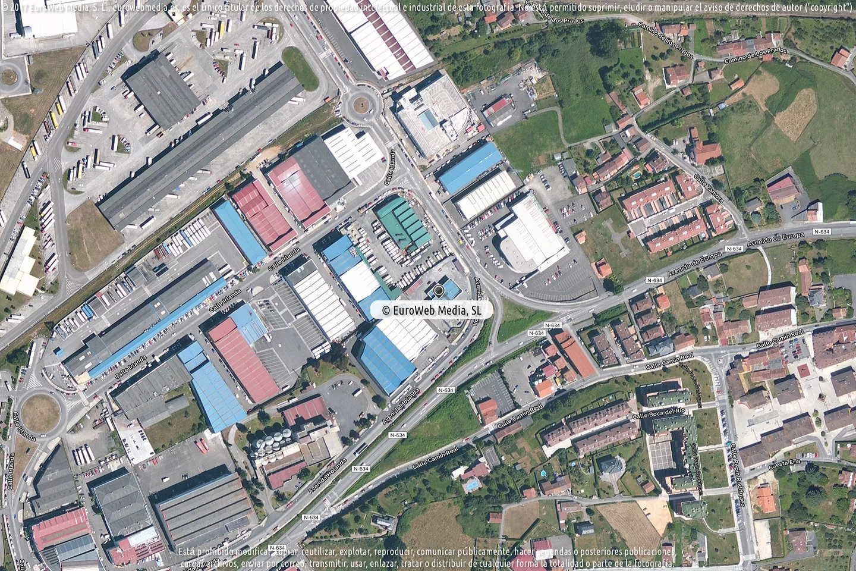 Fotografía de Estación de servicio Esoil en Colloto en Oviedo. Asturias. España.