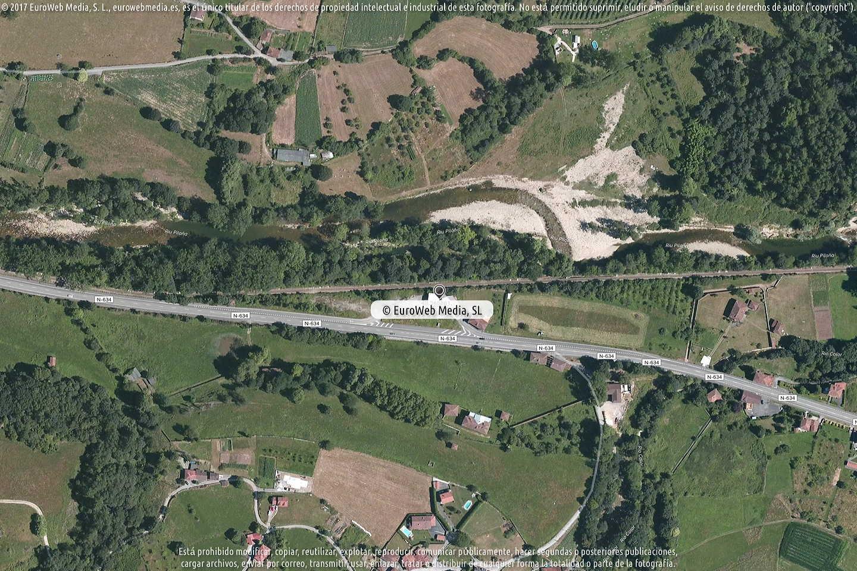 Fotografía de Estación de servicio Repsol en Sebares en Piloña. Asturias. España.
