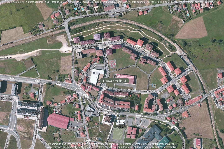 Fotografía de Polideportivo Los Campos en Avilés. Asturias. España.