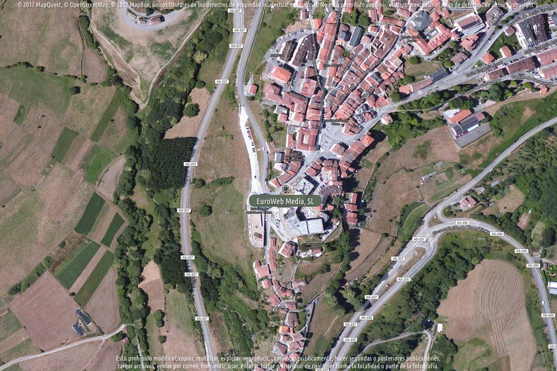 Fotografía de Alimerka Calle Aurelio Flauta en Tineo. Asturias. España.