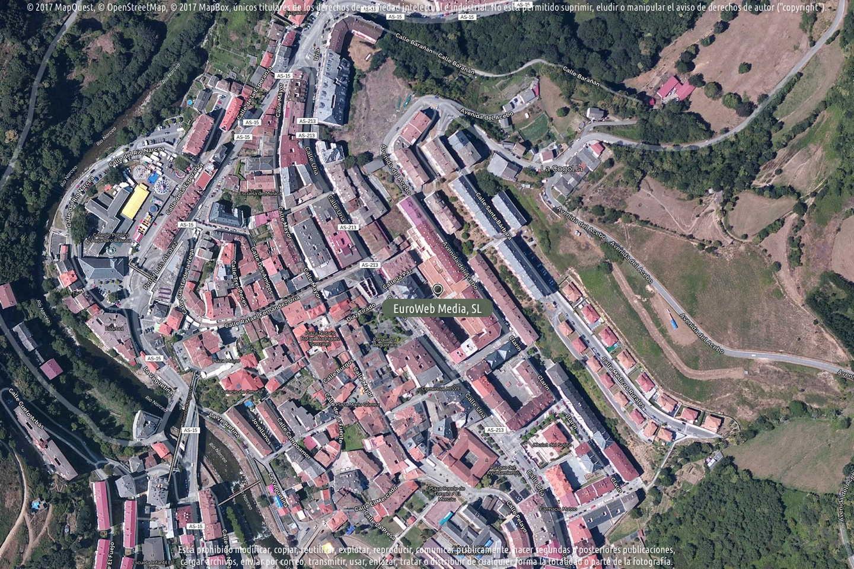 Fotografía de Alimerka Calle Uría en Cangas del Narcea. Asturias. España.