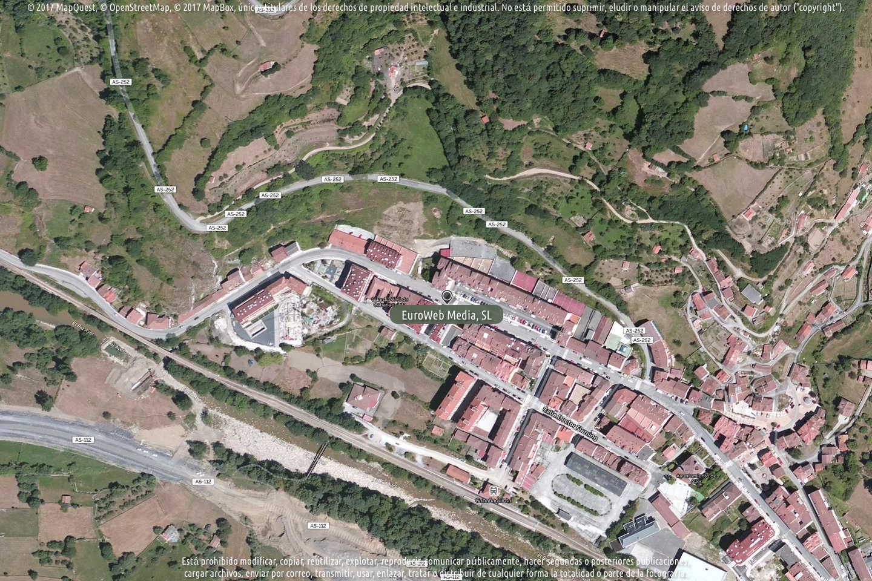 Fotografía de Alimerka Avenida Constitución en Aller. Asturias. España.