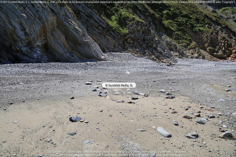 Fotografía de Playa de Los Campizales - Los Negros en Cudillero. Asturias. España.