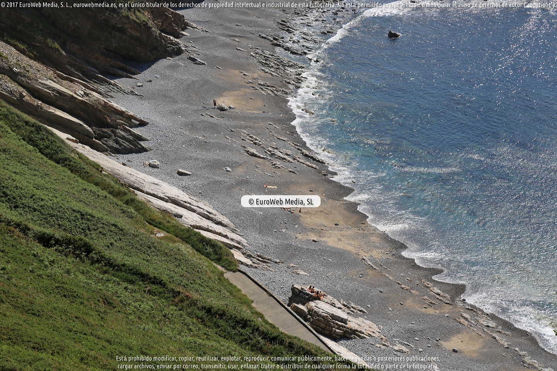 Fotografía de Playa de Peña Doria en Cudillero. Asturias. España.