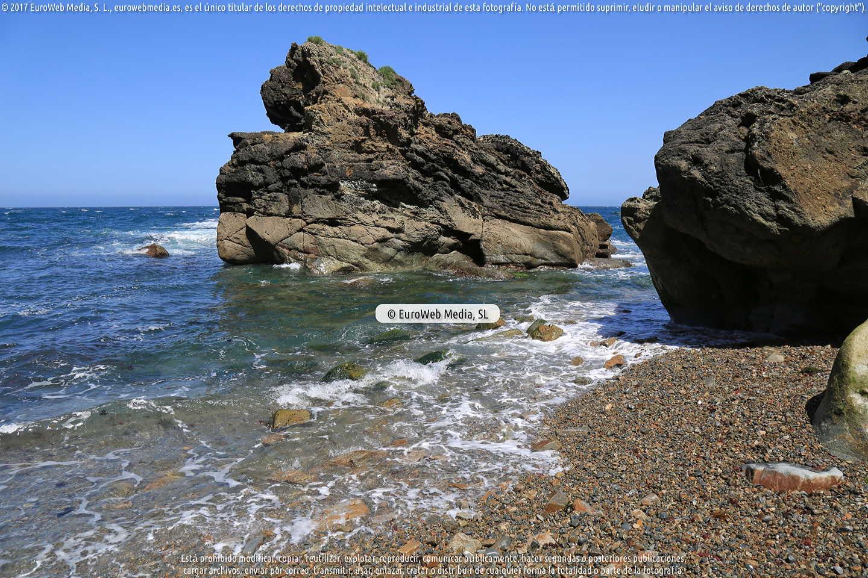 Fotografía de Playa de Portiella, Purtiella o Muriello en Cudillero. Asturias. España.
