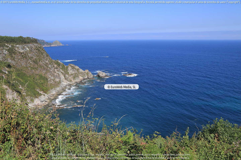 Fotografía de Playa de La Corbera en Cudillero. Asturias. España.