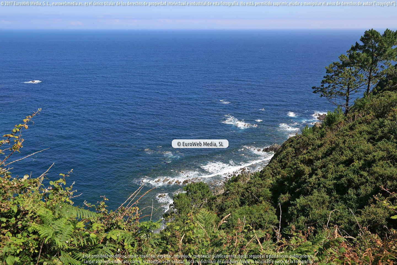 Fotografía de Playa de Las Rubias en Cudillero. Asturias. España.