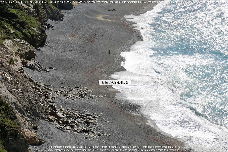 Fotografía de Playa de La Vallina - Del Gallo en Cudillero. Asturias. España.