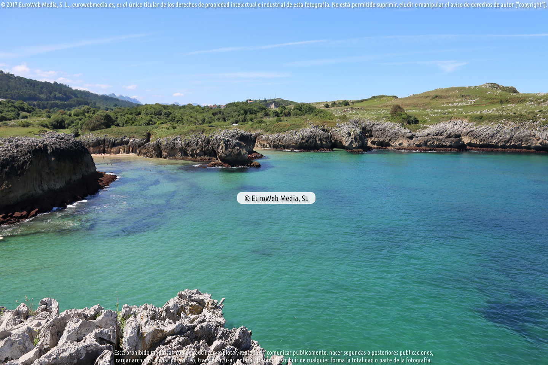 Fotografía de Playa Buelna - Las Arenillas en Llanes. Asturias. España.