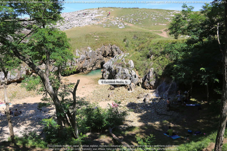 Fotografía de Playa Cobijero en Llanes. Asturias. España.