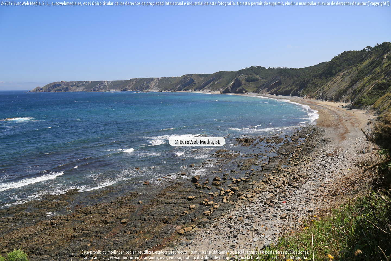 Fotografía de Playa de El Carreiro en Cudillero. Asturias. España.