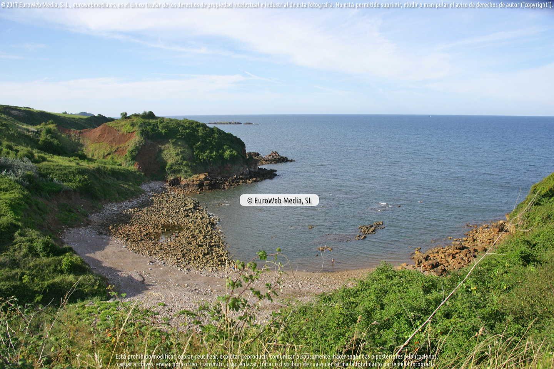 Fotografía de Playa de Rebolleres en Carreño. Asturias. España.