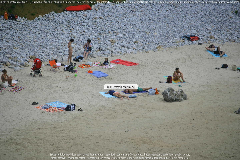 Fotografía de Playa la Portilla San Martín en Llanes. Asturias. España.