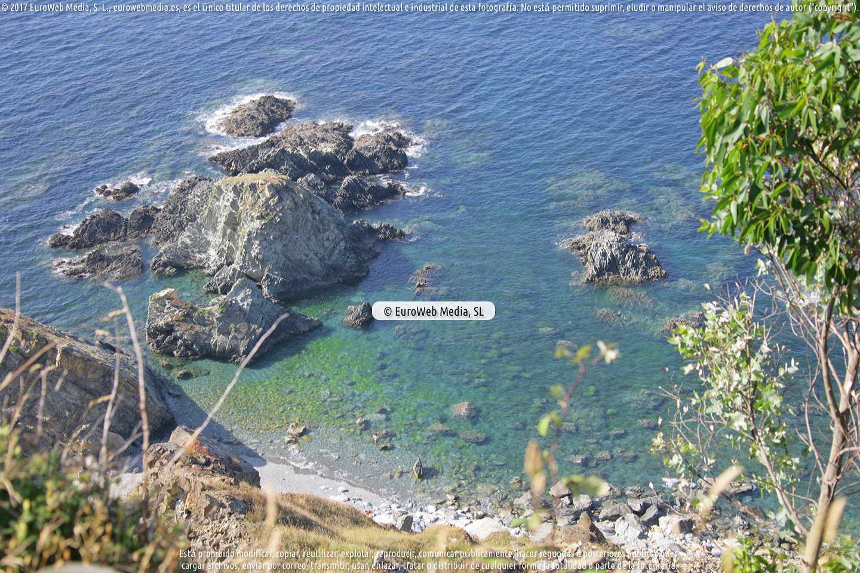 Fotografía de Playa del Garruncho en Muros de Nalón. Asturias. España.