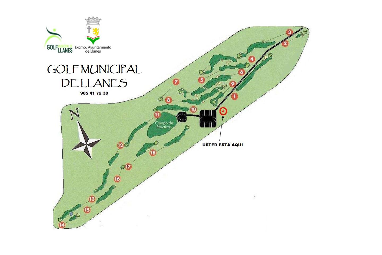 Fotografía de Golf Municipal de Llanes en Llanes. Asturias. España.